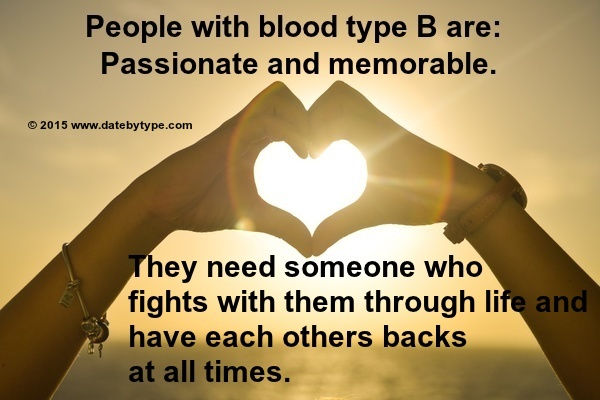 Know your blood type Find true love and real friends